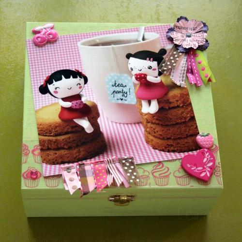 Boîte à thé & Concours chez Miss Bonbon