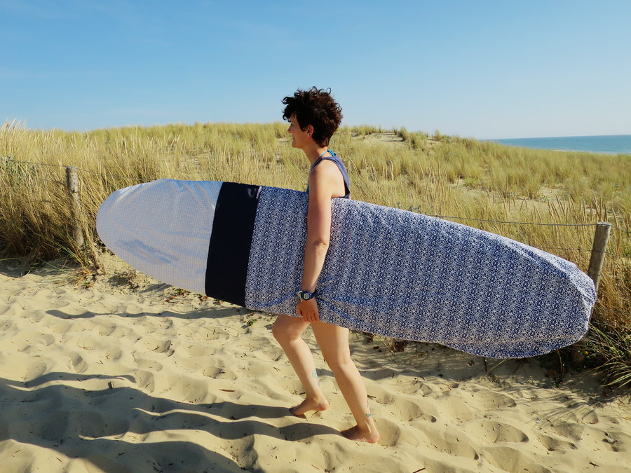 Surf & Couture, ma housse de surf
