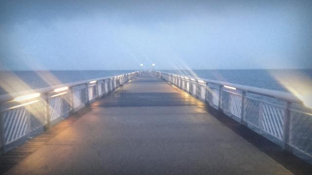 Andernos, un soir pluvieux de Novembre