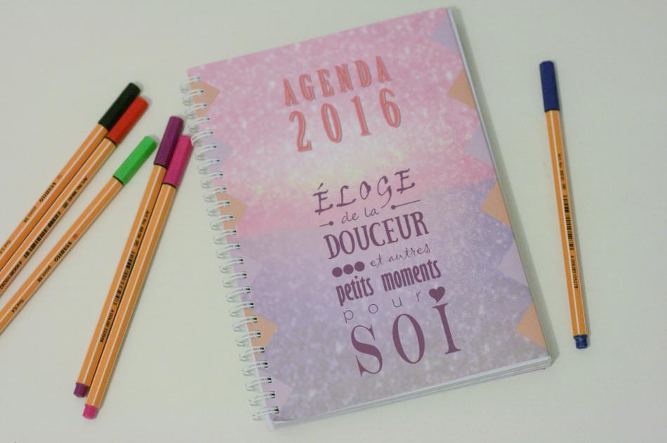 Les jolis projets #1 : l'agenda douceur 2016 par Lalex